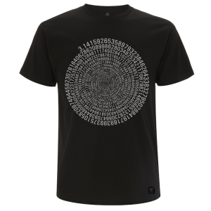 uchi's mens pi t shirt -black