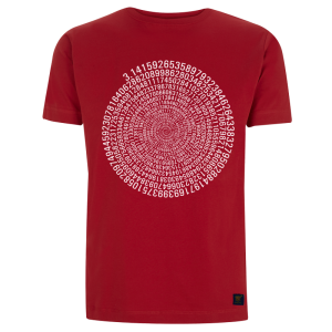 uchi's mens pi t shirt - red