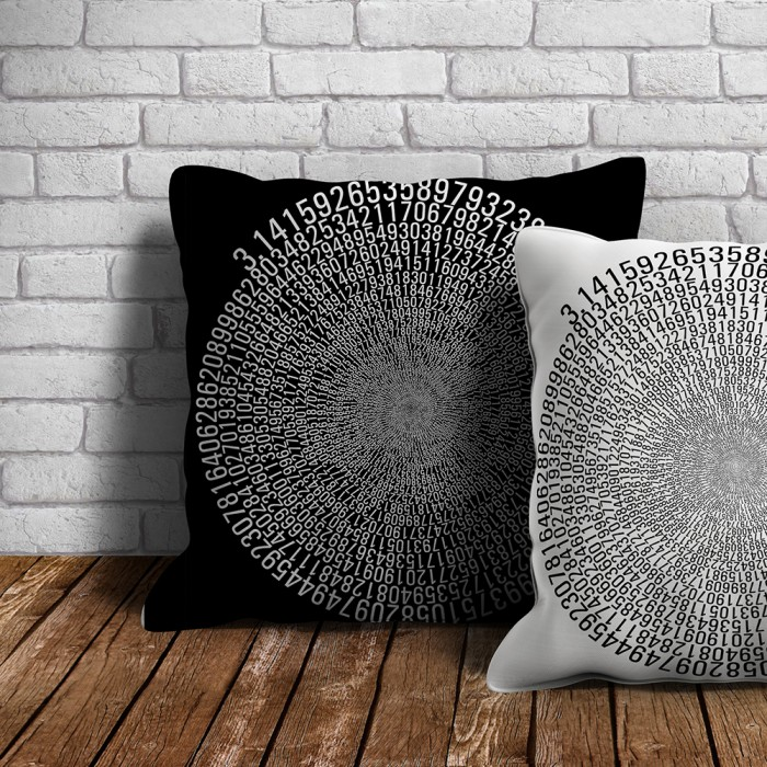 uchi outdoor Pi throw cushions