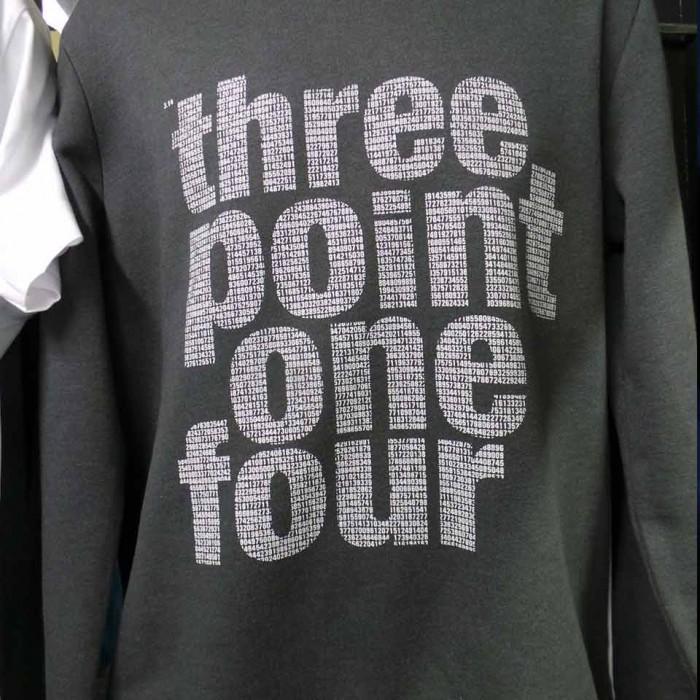 uchi clothing Pi sweatshirts