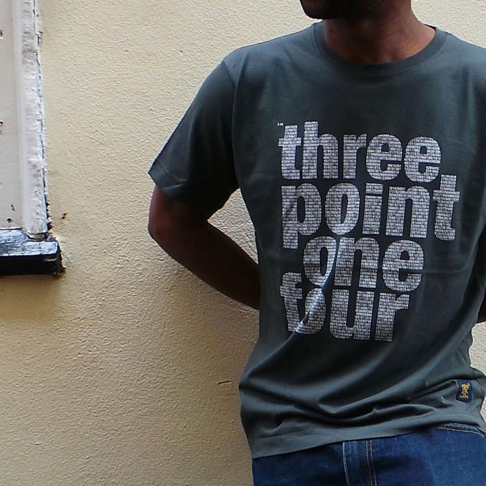 uchi clothing 3.14 Pi T shirt