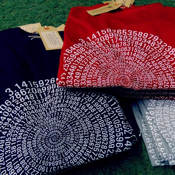 uchi clothing 794 decimal places of mens  Pi t shirts