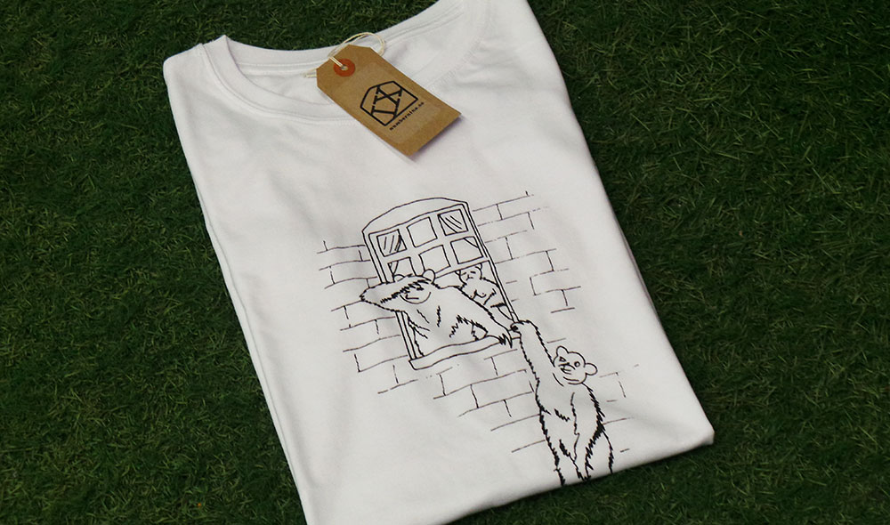 3 bears Banksy Tshirt by IX T shirts