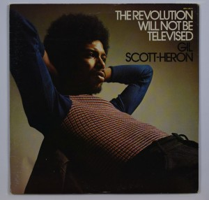 The Revolution will Not Be Televised vinyl cover