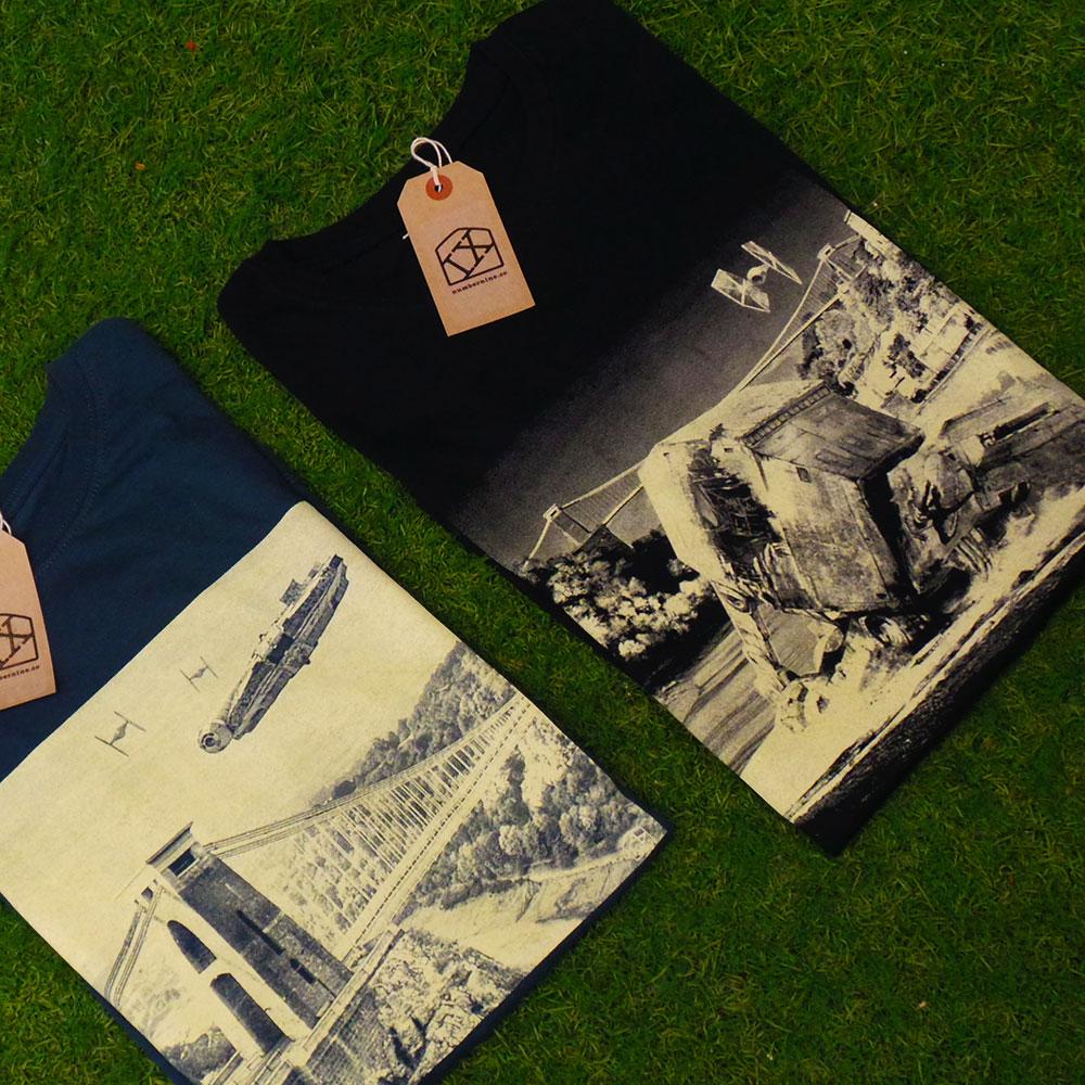 Bristol-Star Wars T shirts