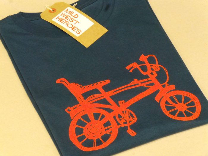 Mid West Heroes T shirt - Chopper Bike