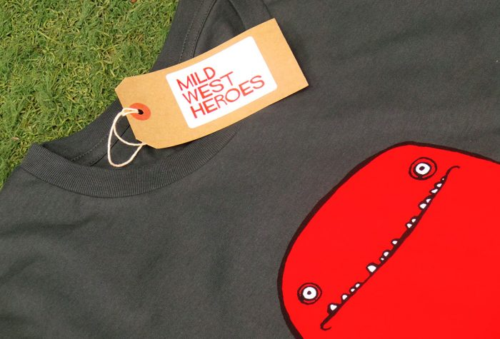 Bob T shirt by Mild West Heroes