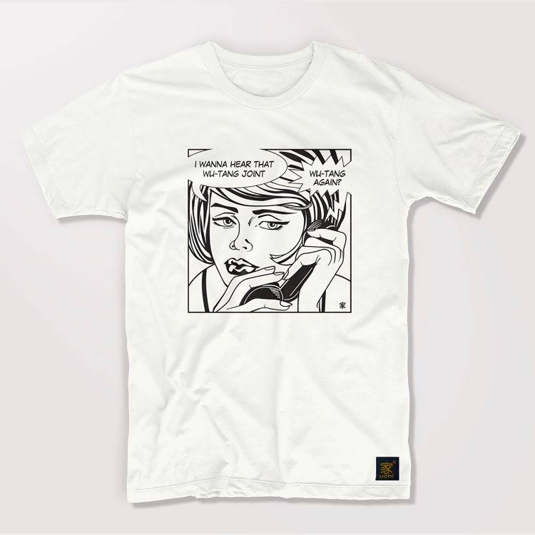 Protect Ya Neck men's white  T shirt by uchi clothing