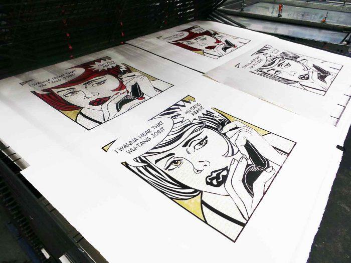Protect Ya Neck - Wu-Tang Clan Pop Art hand screen print