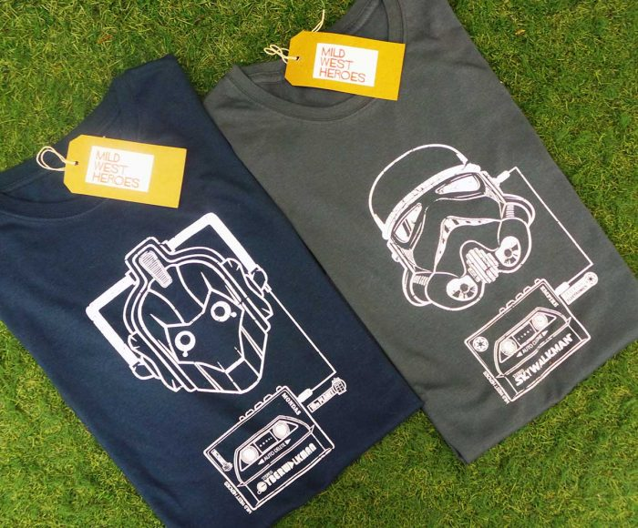 Stormtrooper and Cyberman T shirts